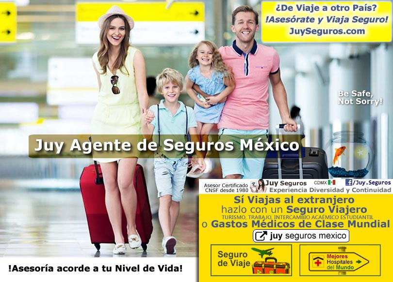 Asesórate, cotiza y contrata tu Seguro Viajero o de Viaje al Extranjero