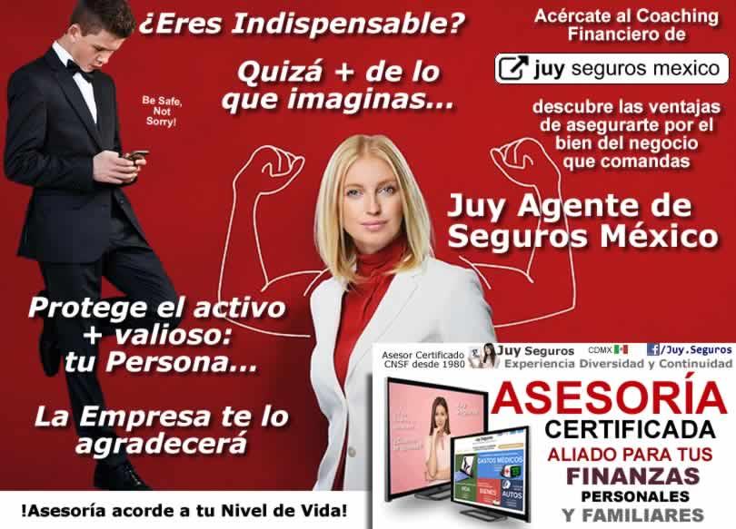 Si eres indispensable para Empresa o Negocio Juy Seguros Mexico protege lo valioso