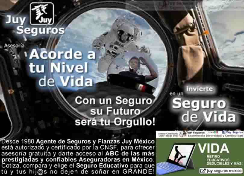 Juy Seguros de Vida Educativos Ahorro Universidad Planes Inversion Mexico