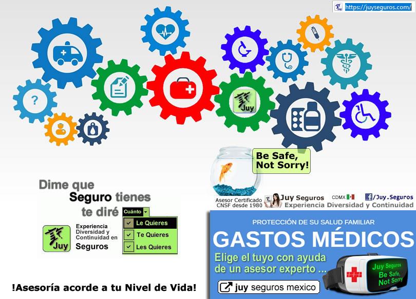 Cotiza y elige tu Seguro de Salud Gastos Medicos con Juy Seguros