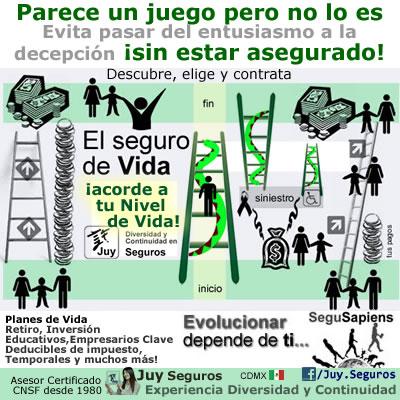Seguros de Vida y Ahorro en México El bienestar familiar no es un juego de Serpientes y Escaleras Consulta JuySeguros.com