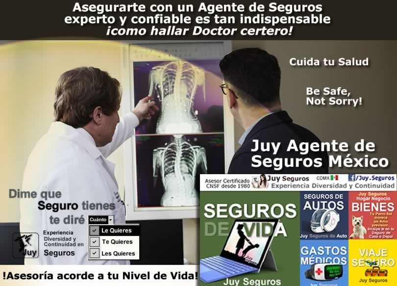 Reembolsos de Gastos Médicos Mayores Agente de Seguros Juy Mexico