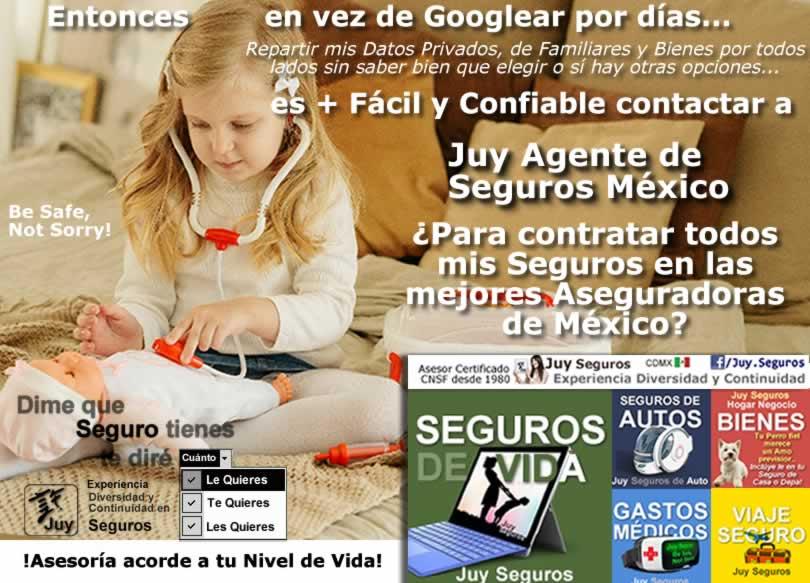 JUY SEGUROS MEXICO Todos tus Seguros en las Mejores Aseguradoras Facil y Confiable Gastos Medicos