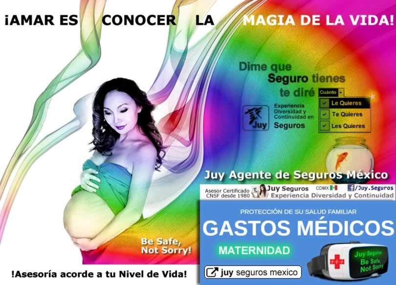 Juy Seguros Mexico Gastos Medicos Mayores Ayuda Maternidad dia de Madres Padres