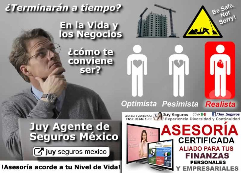 Agente de Seguros y Fianzas Juy Mexico ser Optimista Pesimista o Realista