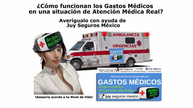 ¿Cómo funcionan Gastos Médicos en una Situación de Atención Médica Real? Averígualo con Juy Seguros México