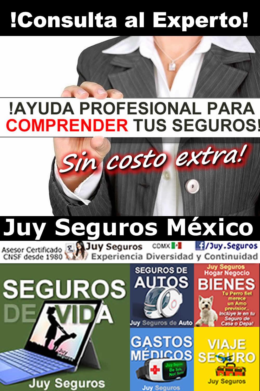 Para entender tu Seguro Consulta Condiciones Generales Juy Seguros México
