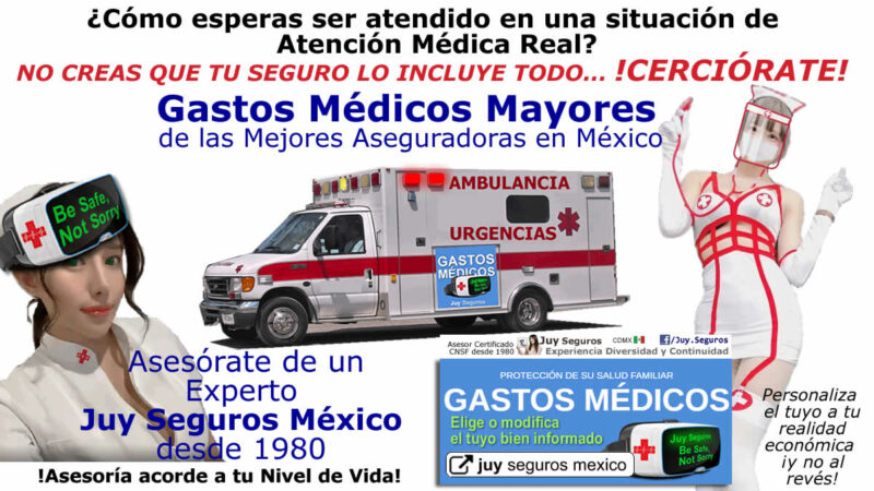 COTIZAR GASTOS MEDICOS MAYORES CONTRATAR JUY SEGUROS MÉDICOS MÉXICO
